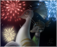 Their New Year's Eve by ShootingStar03