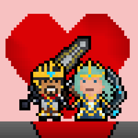 Queen Ashe and King Tryndamere by Pixel-League