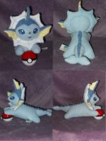 Vivacious Vaporeon by PlushPrincess