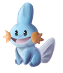 Mudkip by LordChatta