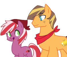 Golden Delicious and Red June by kilala97