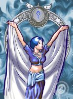 Belly Dancing Mercury by silentlily