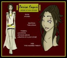 VP: Parisa Faquri by backshadow