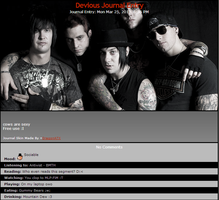 Monochrome Avenged Sevenfold Skin by DragonA7X