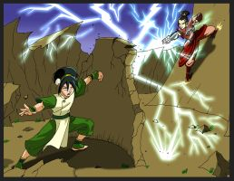 Hold on Toph! by StreetKnights901
