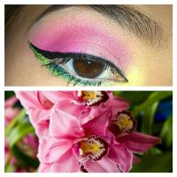 Wearable Orchid Eyes by KLRainbow