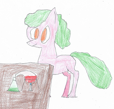ATG Day 27 - Pony Doing Science by ethanland45
