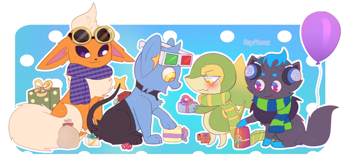 Pokemon Party! by RayFloret