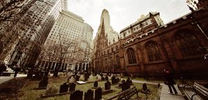 NYC - Trinity Church by PeeAsH