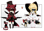 [CLOSED + EXTRA] ADOPT AUCTION 180 - Blind Lace by Piffi-adoptables