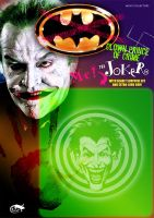 joker vandalized card front by reptilest