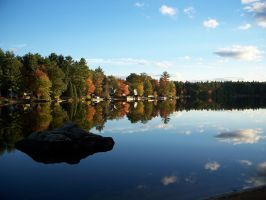 Early Autumn Reflections by sasmith24