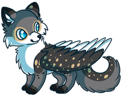 Speckled Fox by Kiwicide