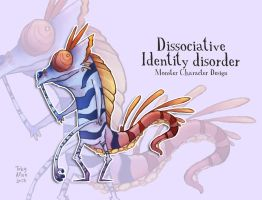 Dissociative Identity Disorder by ZestyDoesThings