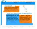 AFLAC site by RendiaX