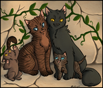 Stormfur's Family by makimotto