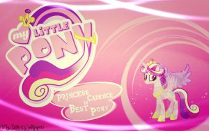 Princess Cadence Is Best Pony Wallpaper by xSass-Queen-Alleyx