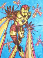 Iron man by DustyPaintbrush