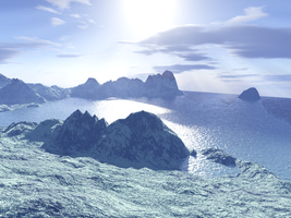 Terragen background stock 3 by AlzirrSwanheartStock