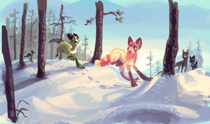 Chase by griffsnuff