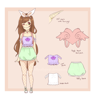 :CE: Rin Rins Mascot maybe by MissJollyollypop