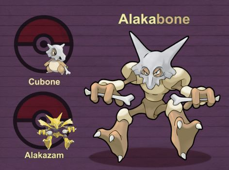 Alakabone by PokeFusionMan