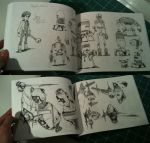 SPACECAVE ONE Interior pages by JakeParker