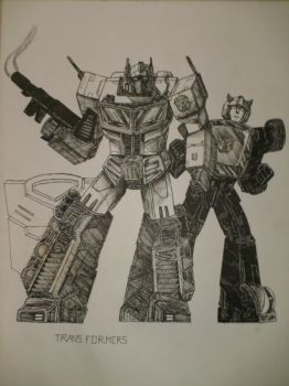 optimus bumblebee 2008 by Lunkface89