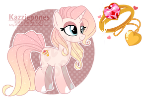 Lovely Jewel - Valentines Theme 10 [CLOSED] by Kazziepones