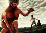 Shingeky No Kyojin 50 - I Will Destroy You by HikariNoGiri