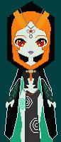 Midna The Twilight Princess by Linkxtetra121