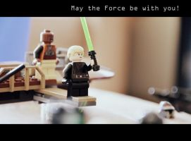May The Force Be With You! by dizzylizz
