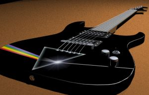Pinkfloyd Guitar by flyguy99999