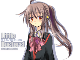 Little Busters-Natsume Rin by Kiwi-ChanZ