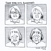Three Years with Alzheimer's by characterundefined