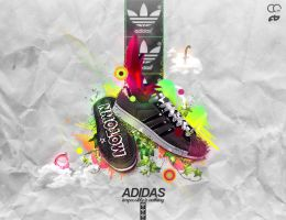 Adidas - impossible is nothing by FISHBOT1337