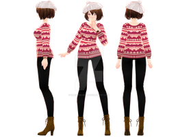 Tda Sweater Weather MEIKO by sailor-rice
