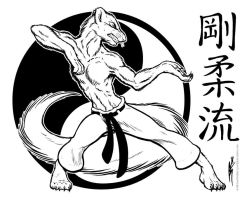 Goju Ryu Mongoose by joeartguy