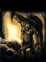 Cave troll by Froggybre