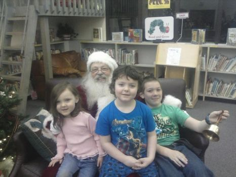 All 3 of my babies visiting Santa this year! by FanMaidHavenConcepts