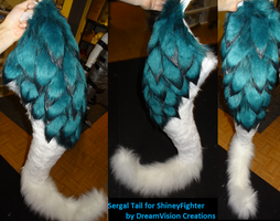 Sergal Tail by DreamVisionCreations