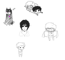 YJ Doodles 1 by sunshinesrain