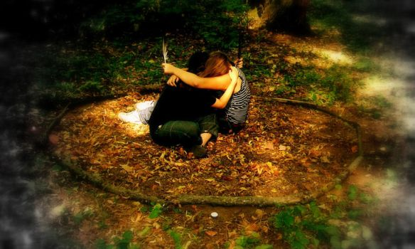 wiccan ritual 4 by fraise-ecrasee