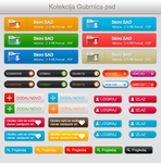 Web buttons+free psd by Forbs1994