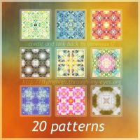 pattern set 01 by Vanessax17