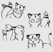 Kirara doodles by Sonicth62