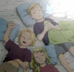 Ed, Al and Winry by gryffchick
