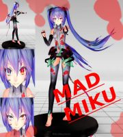 Mad Miku (Edit) by PrincessHachiko