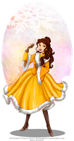 Winter Princess - Belle by selinmarsou