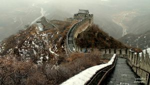 Great Wall of China by widexpillow